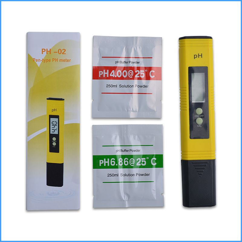 100 pcs/lot LCD Digitalen Stift Typ PH-Meter Reichweite: 0,00 ~ 14,00 Wasser Qualität Tester für Aquarium Schwimmbad Wasser Wein Urin