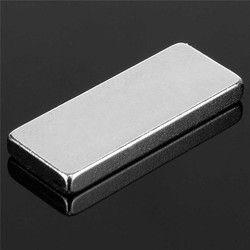 10 unids 25x10x3mm N52 bloque imanes de tierras raras de neodimio imán permanente rectangular 25mm x 10mm x 3mm imán cuadrado