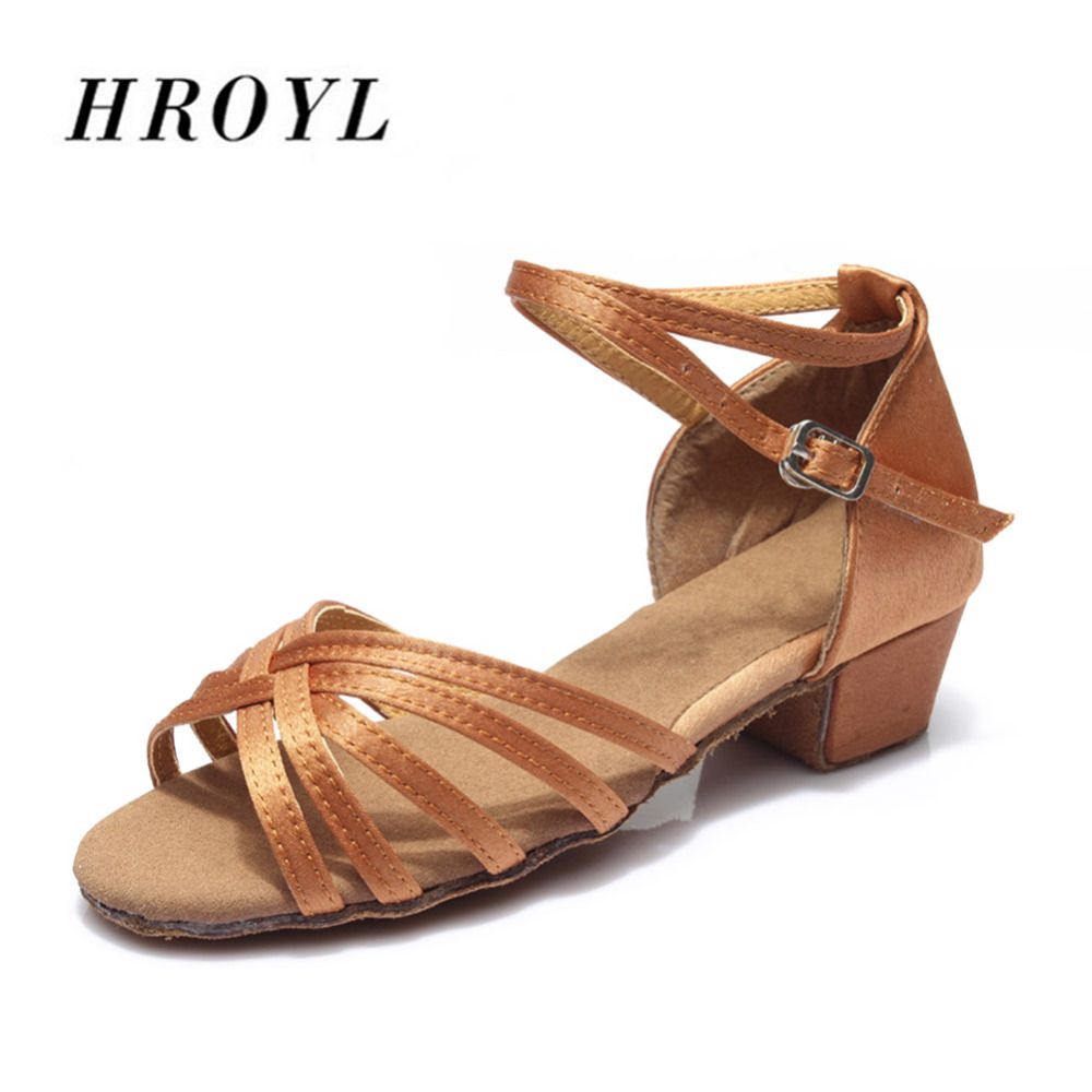 601 High quality new <font><b>arrival</b></font> wholesale girls Children/child/kids ballroom tango salsa latin dance shoes low heel shoes