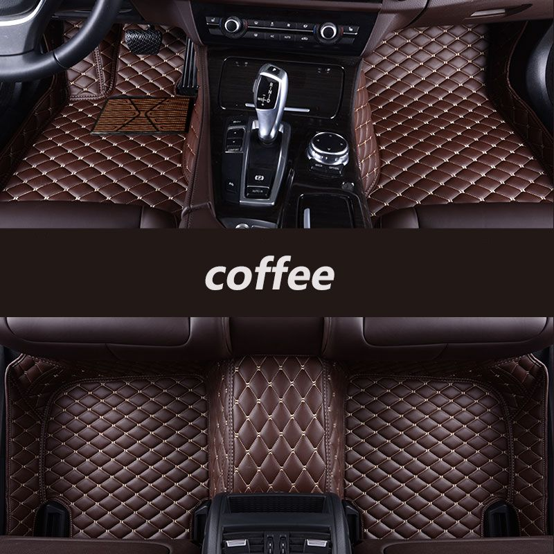 kalaisike Custom car floor mats for Lexus All Models ES IS-C IS LS RX NX GS CT GX LX570 RX350 LX RC RX300 LX470 auto styling