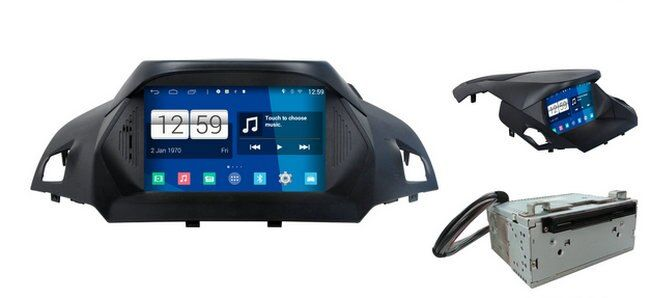 S160 Android 4.4.4 CAR DVD player FOR FORD KUGA 2013-2014 car audio stereo Multimedia GPS Head unit