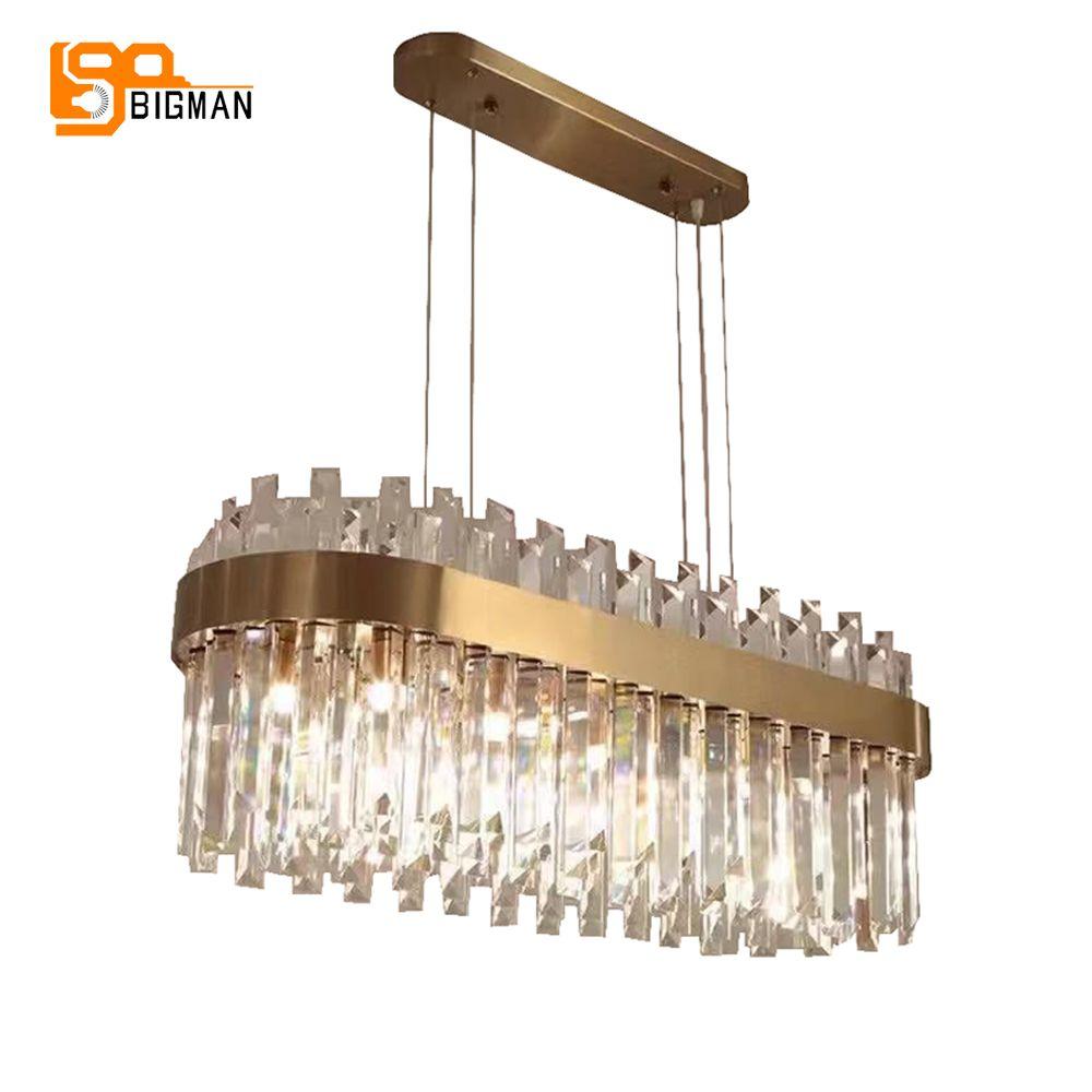 Neue luxus kronleuchter kristall lampe moderne kroonluchter AC110V 220 V gold esszimmer wohnzimmer leuchten