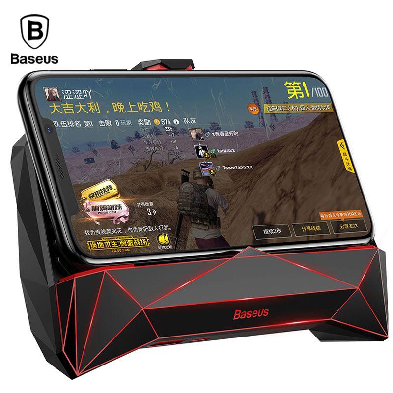 Baseus Spiel Telefon Halter Für iPhone XS MAX X Samsung S9 Handy Kühler Kühlkörper Kühl Spiel Controller Griff halter
