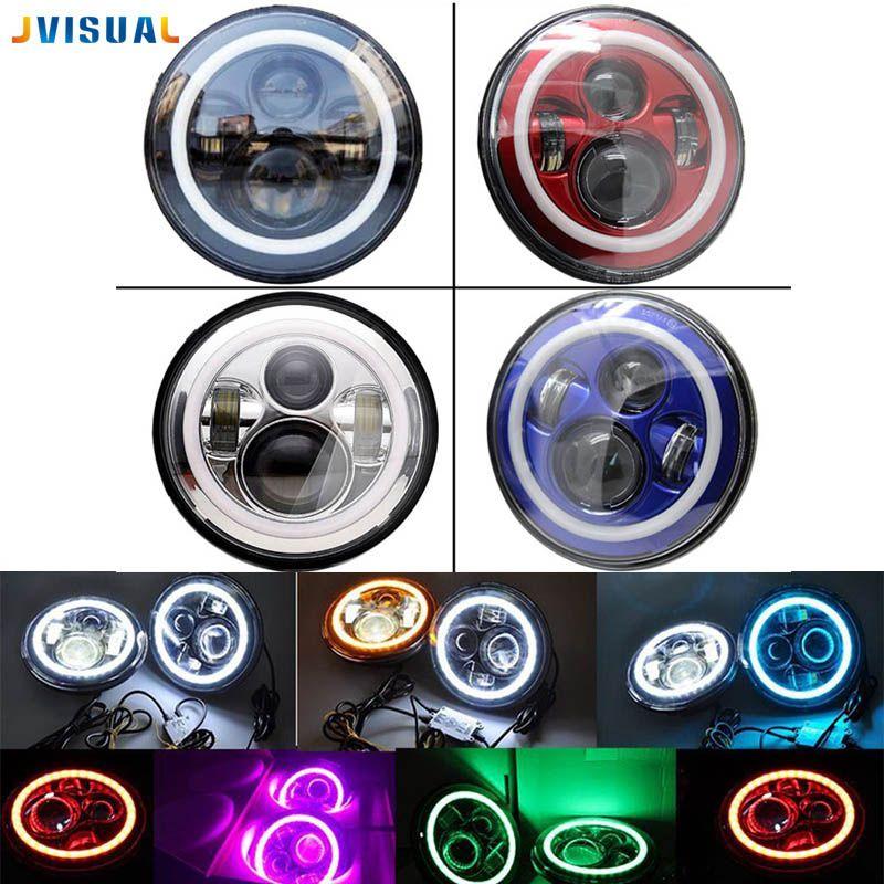 7inch LED Halo Headlights Kit 7