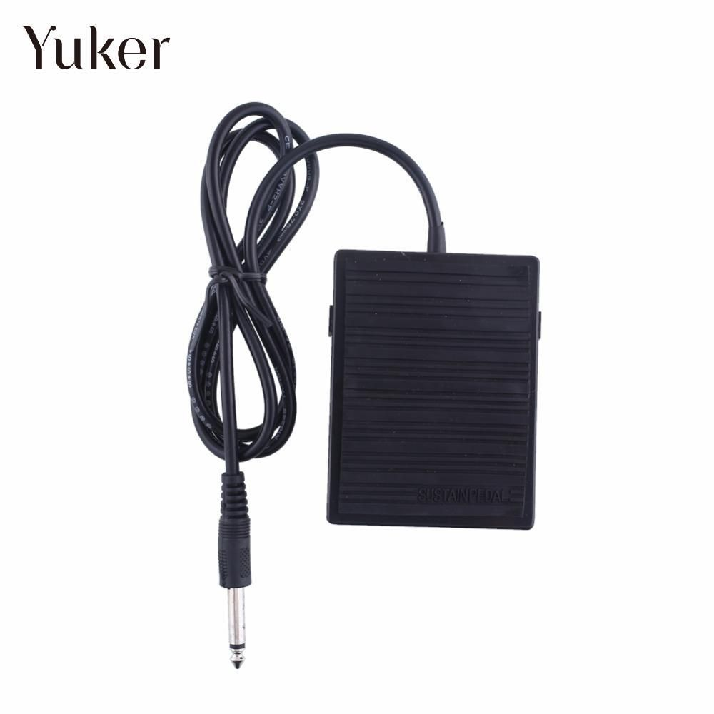Yuker Foot Sustain Pedal Controller Switch For Electronic Keyboard Piano Yamaha Repair Sustain-Pedal High Quality Hot Sale