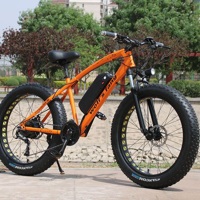 Elektrische Fahrrad 48v 500w 13AH 26 zoll Aluminium legierung lithium-batterie 27 geschwindigkeit Mountainbike MTB Kostenloser versand bürstenlosen Motor