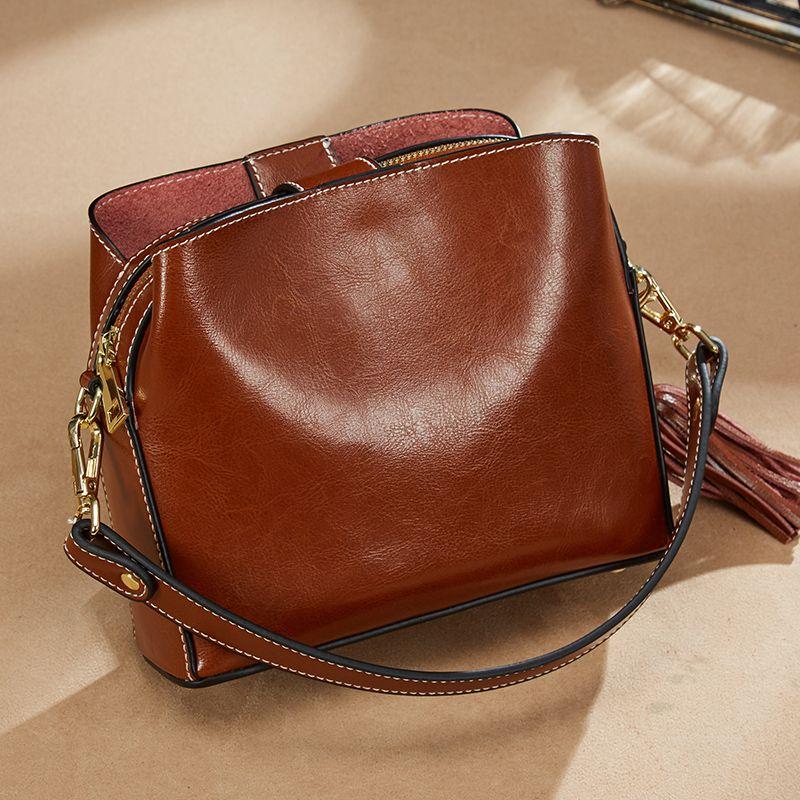 Genuine Leather Bags Designer Handbags Women Shoulder Crossbody Bags Women Menssenger Bag Tote Bolsas Feminina Famous Brand