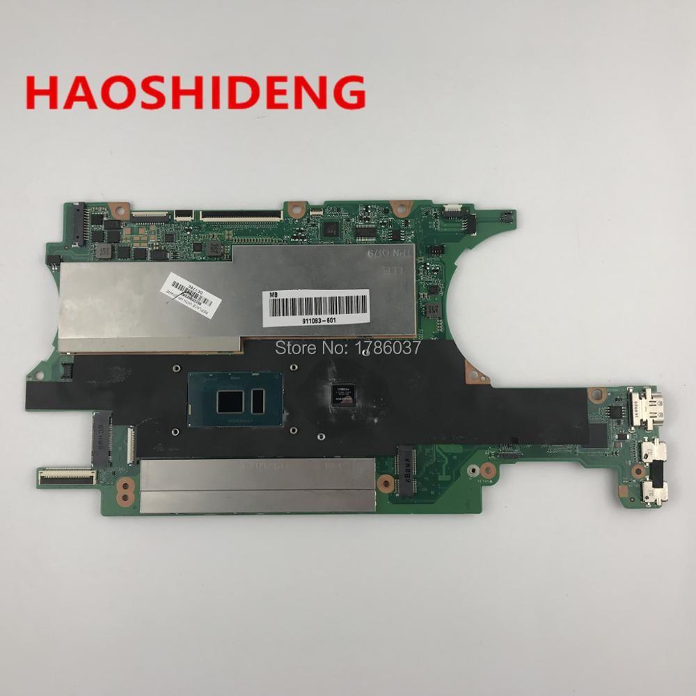 911083-601 DA0X32MBAG0 Für HP SPECTRE X360 15-BL serie Laptop Motherboard mit i7-7500U CPU, Alle funktionen vollständig Getestet!
