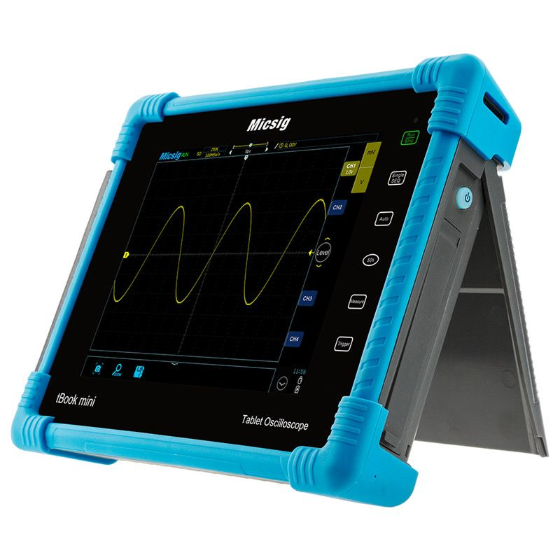 Micsig Digital Tablet Oscilloscope 100MHz 2CH 4CH handheld oscilloscope automotive scopemeter oscilloscope osciloscopio TO1000