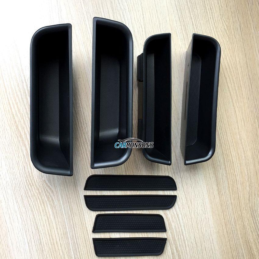 Organisateur de voiture pour Mercedes Benz ML GL GLE classe X166 W166 poignée de porte boîte de rangement conteneur plateau de support accessoires style de voiture