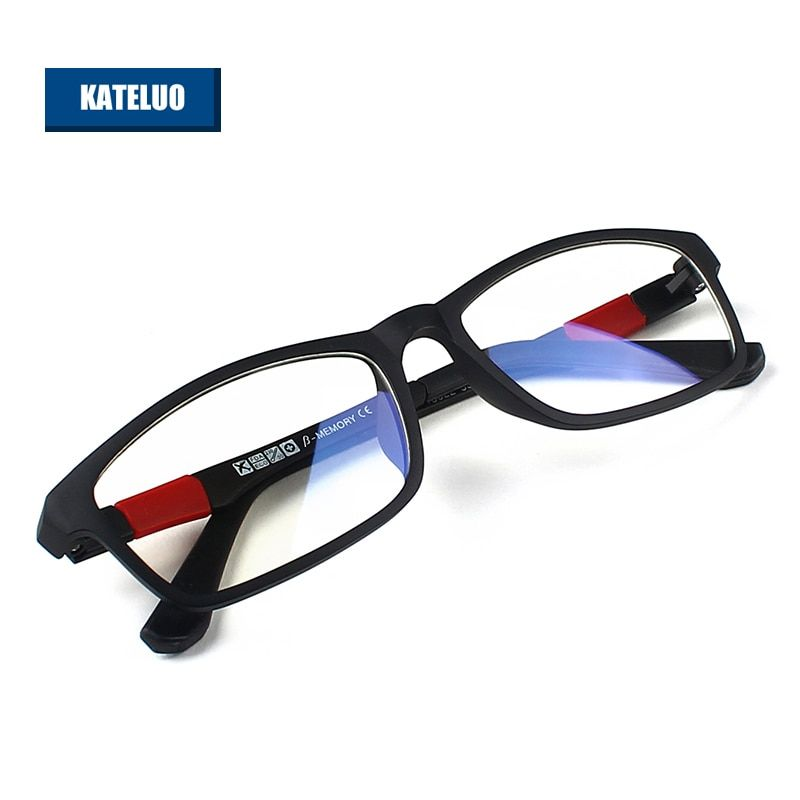 KATELUO ULTEM(PEI)- Tungsten Computer Goggles Anti Fatigue Radiation-resistant Reading Glasses Frame Eyeglasses oculos 13022