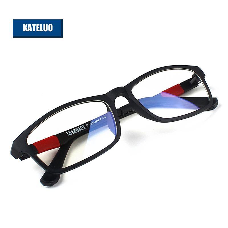 KATELUO ULTEM (PEI)-lunettes d'ordinateur en tungstène Anti-Fatigue lunettes de lecture résistantes aux rayonnements cadre lunettes oculos 13022