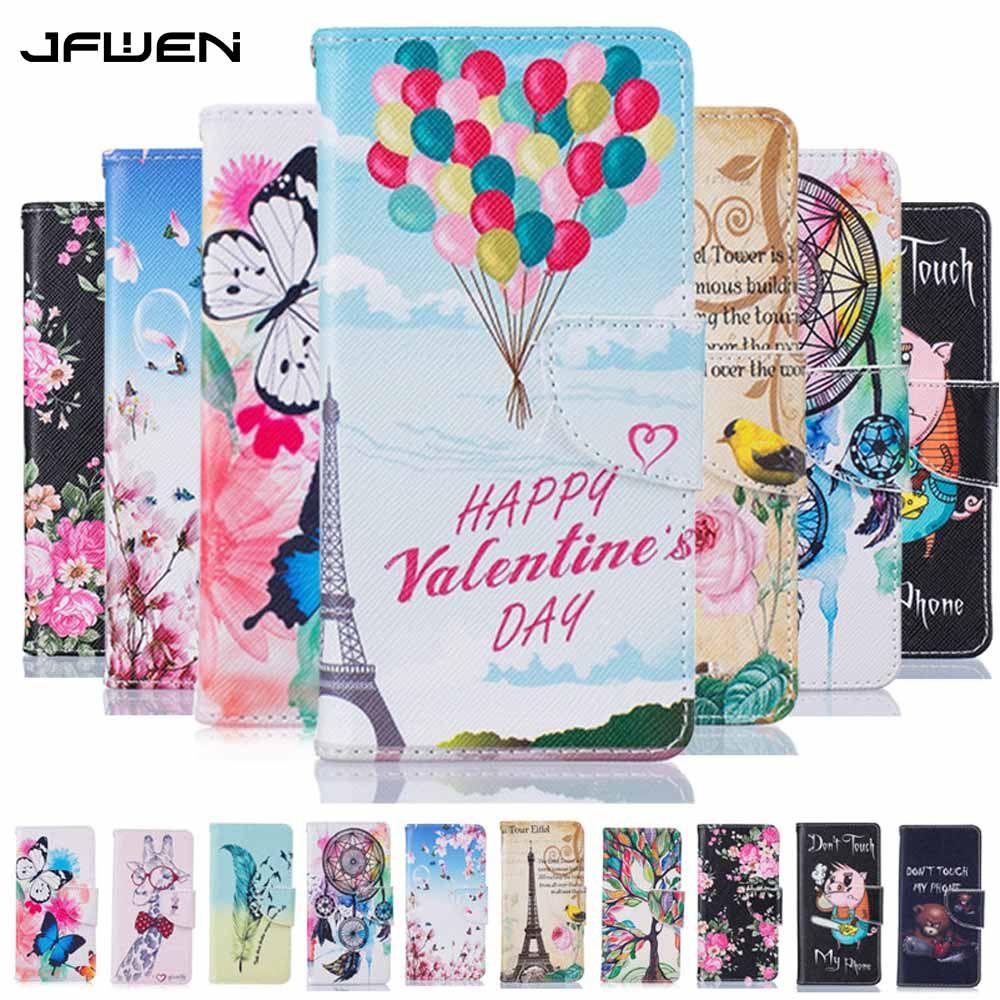 Jfwen флип чехол для Samsung Galaxy J3 2016 чехол Бумажник Стенд Luxury PU кожа окрашенные телефона чехол для Samsung J3 2016 J320 крышка