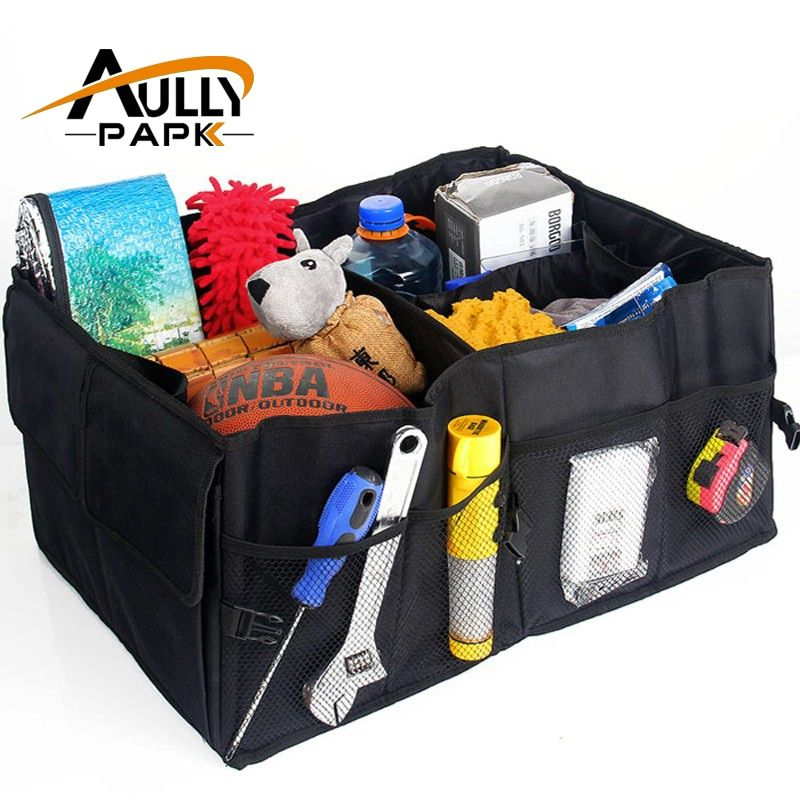 Automobiles Car Storage Box Trunk Bag Vehicle Tool Box Multi-use Tools Trunk Organizer Bag Folding Interior Accessories