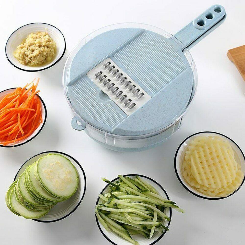 1 pièces multi-fonction facile nourriture Chopper carotte pomme de terre râpe manuel oignon Cutter facile nourriture Chopper trancheuses cuisine Gadget