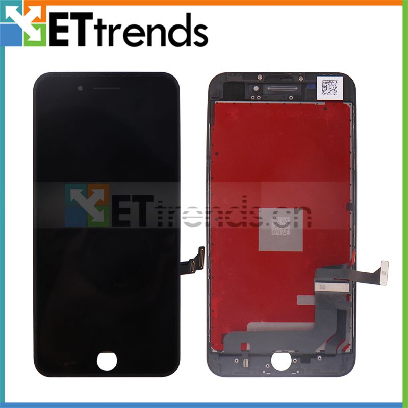2PCS Original OEM LCD Screen for iPhone 8 Plus LCD screen touch Digitizer Glass Screen Assembly with Frame DHL Free Shipping