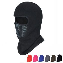 Winter Warm Motorcycle Windproof Face Mask Motocross Face masked Cs Mask Outdoor Warm Bicycle Thermal Fleece Balaclava