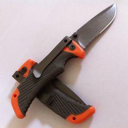 Medium größe scout klappmesser, tasche kompakte taktische freien kampierende jagd rettungsmesser mit kasten und handbuch
