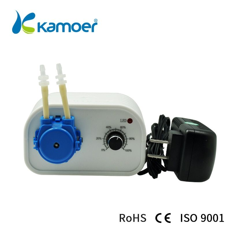 Kamoe nouvelle Machine de remplissage de distribution de pompe à eau péristaltique KCP 24V avec débit réglable à faible bruit pour liquide de laboratoire