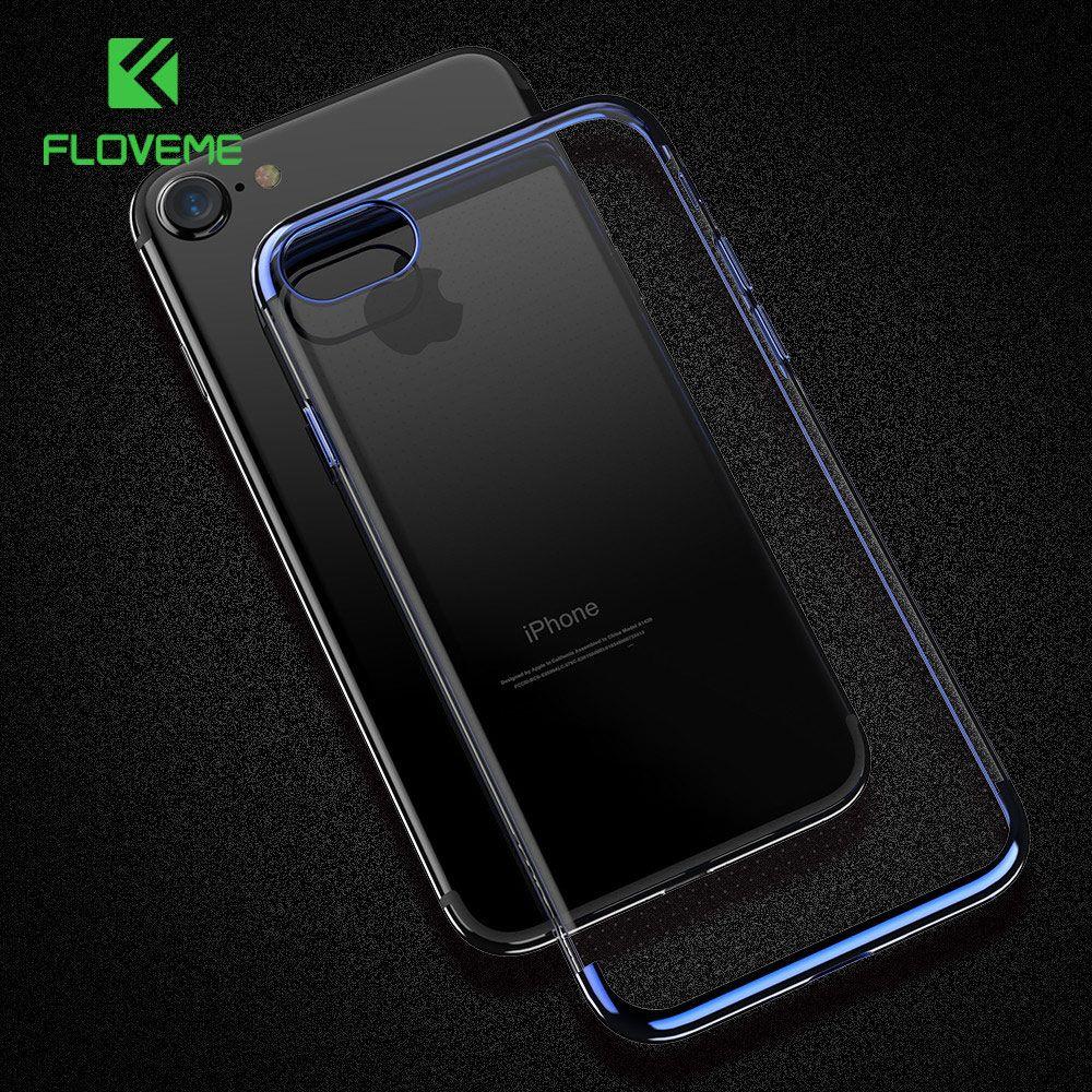 Floveme для iPhone 6 S Чехол для iPhone 6 плюс 6 S Plus Прохладный прозрачный Чехол для iPhone 6 6 S Чехол Мягкий силиконовый чехол чехол на айфон 6 чехол на айфон...