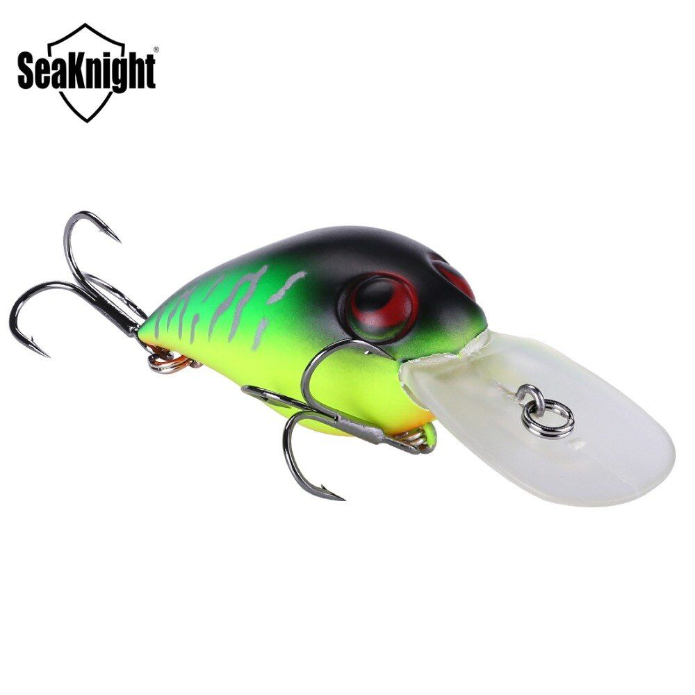Sk002 1 stücke kurbel köder 50mm 11g 0-1,8 mt harte schwimmenden fischen lockt Chubby locken kurbel griff Wobbler köder 3D locken Augen