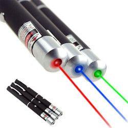 Vert Rouge Bleu Pointeur Laser Stylo Visible Faisceau de Lumière Lazer 532NM-405NM 5 mw Faisceau Ray Pointeur Laser Instructeur Stylo lampe de Poche P0.11