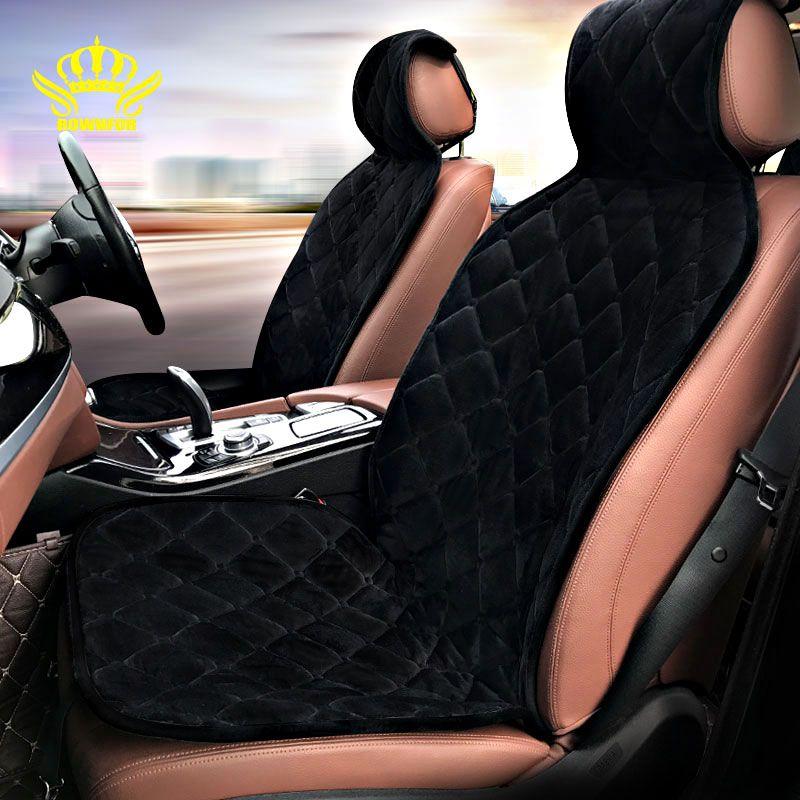 2018 Новый модель,2 шт меховые накидки на сиденья автомобиля, цвета серый, черный, коричневый, желтый, красный, материал высокое качество барха...