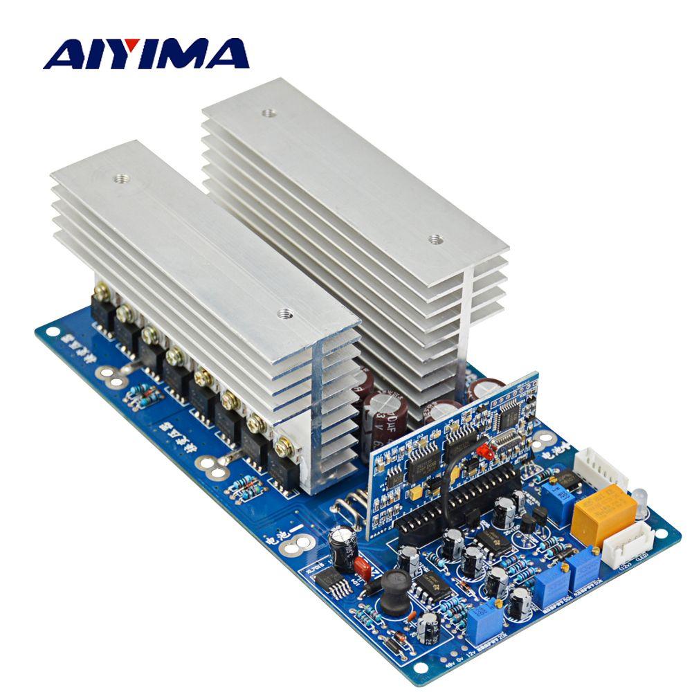 AIYIMA 1 stück DC 24 v 36 v 48 v 60 v zu AC 1500 watt 2200 watt 3000 watt 3500 watt Reine Sinus Welle Inverter Frequenz High Power Finsh Board Test