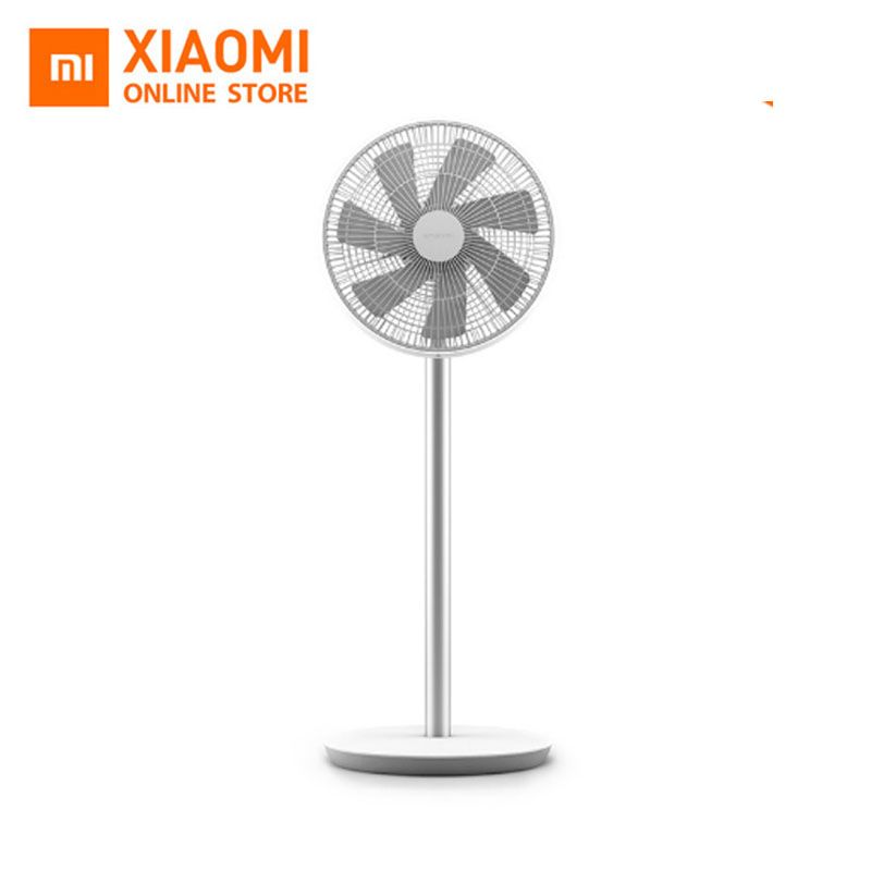 Original Xiaomi Smart Wireless Stand Fan Natural Comfortable Wind DC Frequency Phone APP Remote Control Built In Battery