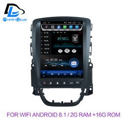 32G ROM Vertikale bildschirm android 8.1 system auto gps multimedia video radio player in dash für opel ASTRA J auto navigaton stereo