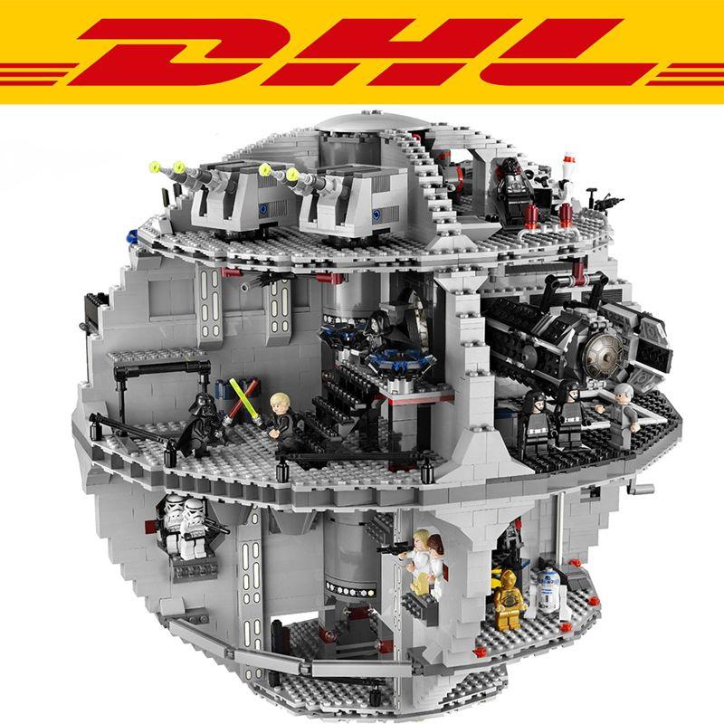 2018 New 3803Pcs Star Wars Death Star Model Building Kits Figures Blocks Bricks Educational Children Toy Gift Compatible 10188