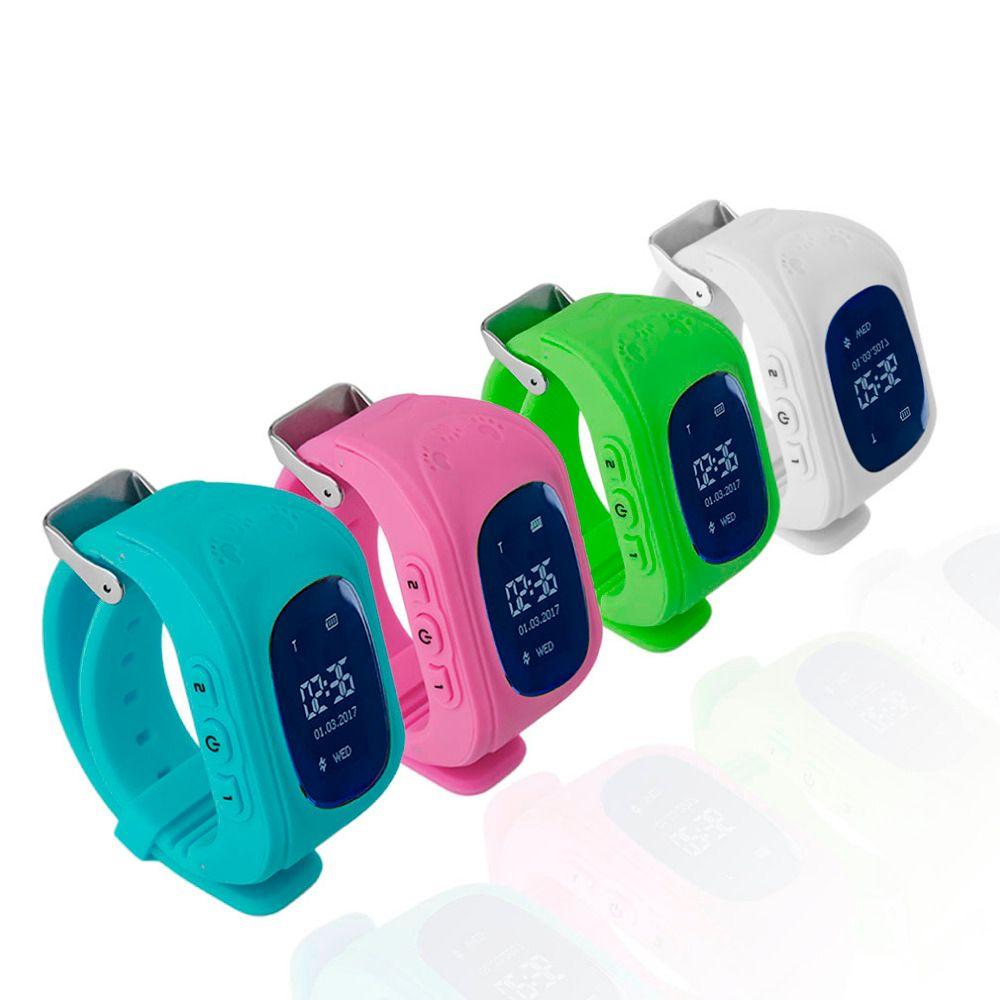 Профессиональный Q50 OLED Дисплей Для детей Смарт наручные часы GPS трекер Locator Anti-Потерянный Водонепроницаемый Смарт-часы Прямая доставка