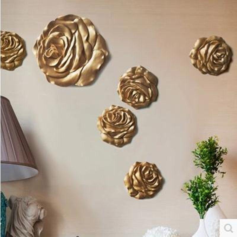 Autocollants muraux, belles roses et fleurs du soleil, artisanat de décoration murale de bureau à la maison, décoration de mariage