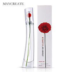 MayCreat 50 ml perfumado mujeres Parfum Spray fragancia y desodorante femenino perfume fragancias larga duración mujeres perfumes