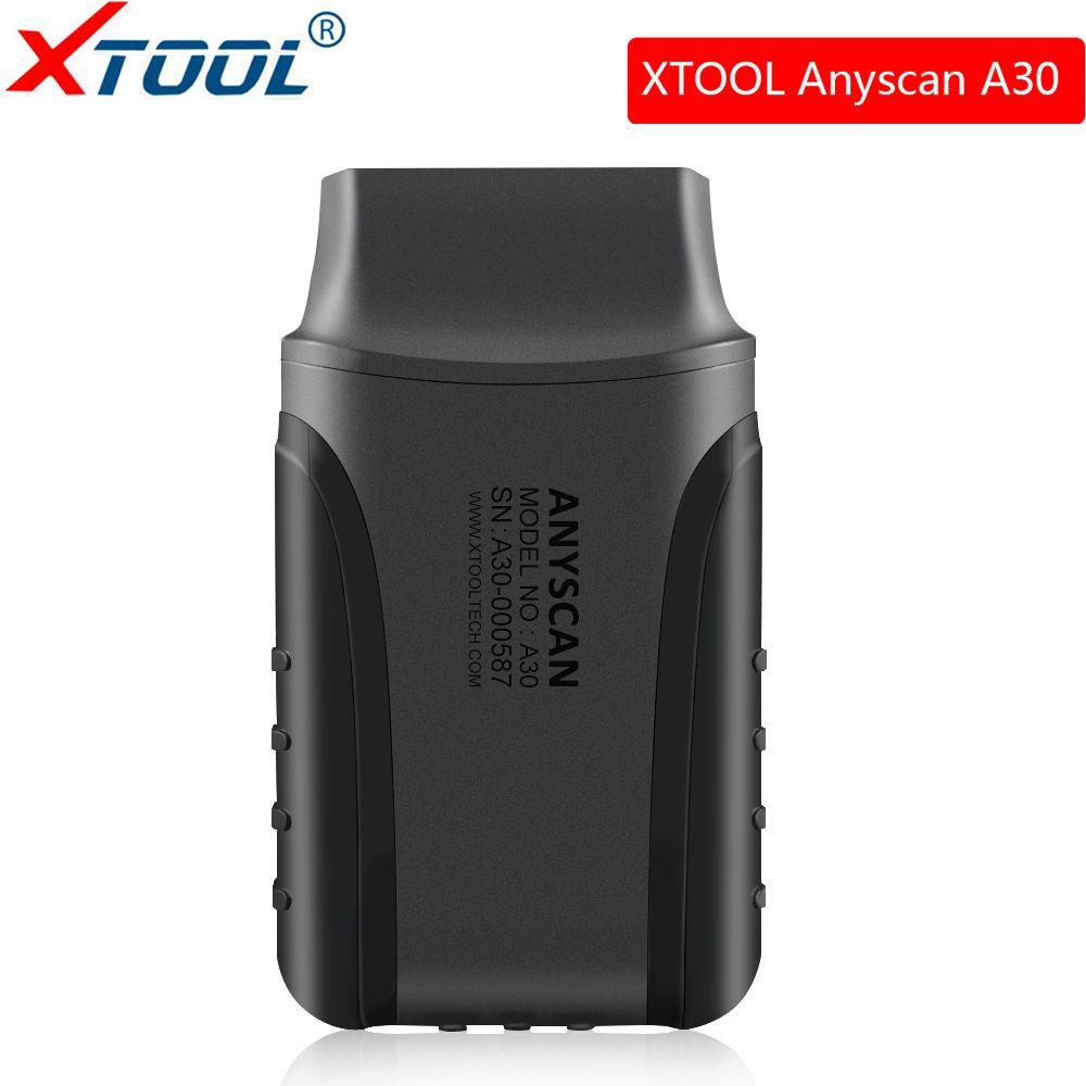 Xtool Anyscan A30 Alle System Auto Detektor Obd2 Code Reader Scanner Für EPB Öl Reset airbag ABS Obd2 Diagnose Werkzeug freies update