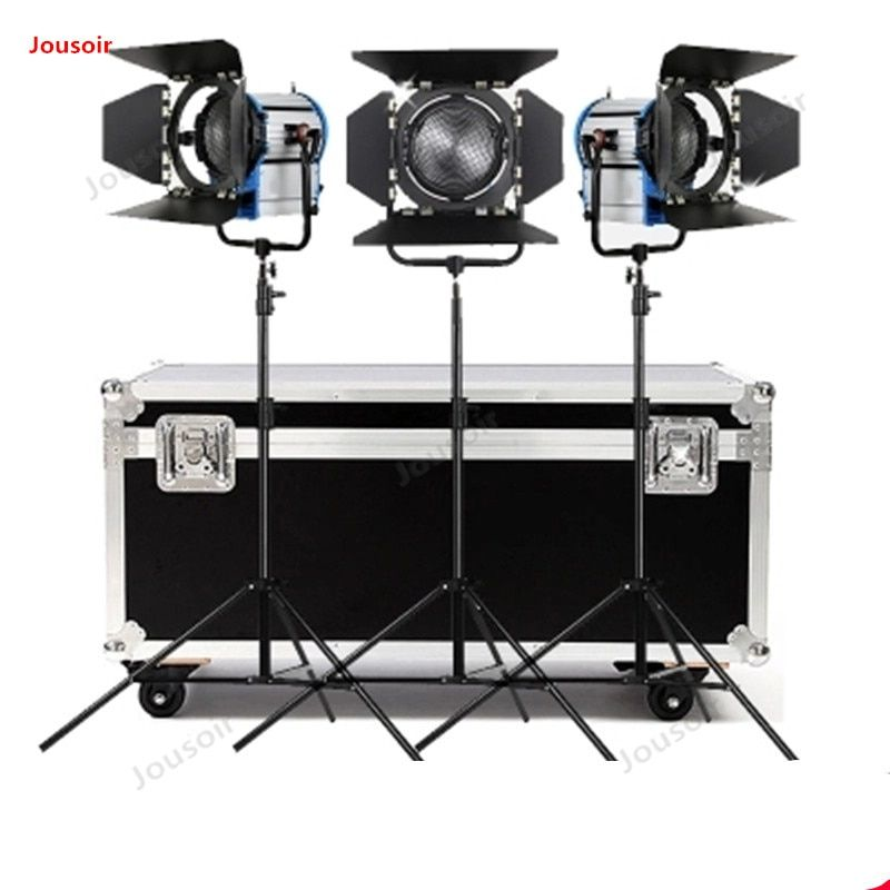 2000W Scheinwerfer 3 Licht Set film und fernsehen konzentriert wolfram draht Scheinwerfer studio Lampe Film Lampe CD50 T03