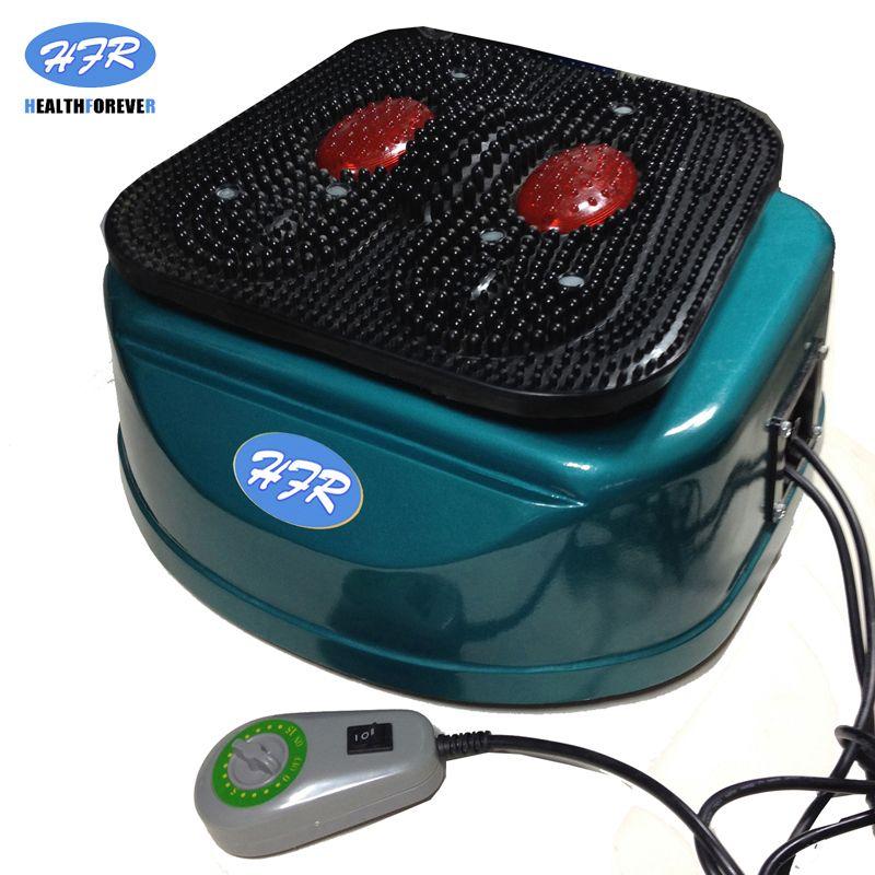 HFR-8805-1 HealthForever marque télécommande dispositif vibrant jambes corps complet électrique pied Circulation sanguine Machine de Massage