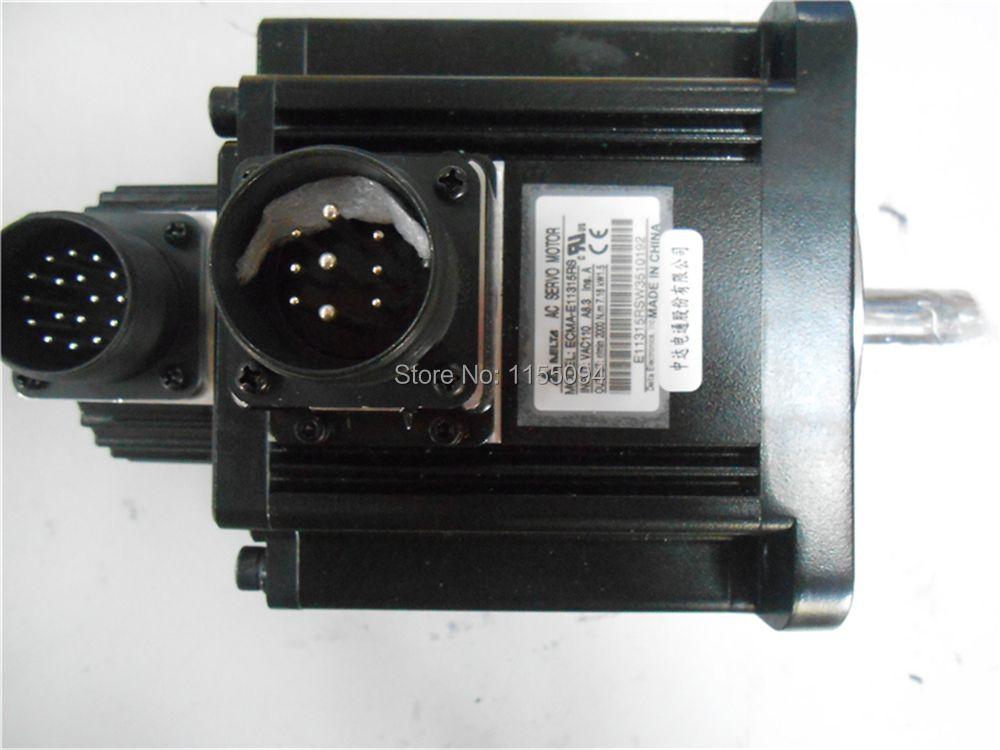 220 V 1.5KW 7.16NM 2000 rpm 130mm ECMA-E11315RS A2 AC Servo Motor mit Nut öl dichtung Neue