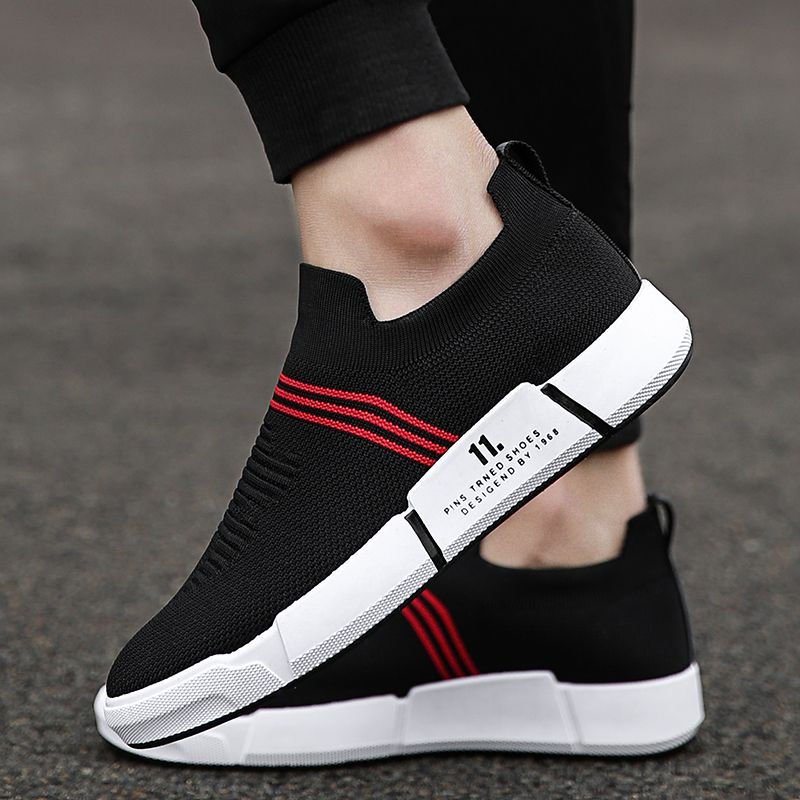 2018 Outdoor men Sneakers Breathable Mesh Sport Shoes Female Running Shoe Socks zapatillas deporte mujer Spring Summer shoes