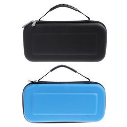 EVA Hard Bag Storage Travel Carry Pouch Cover for Nintendo Switch for NS Nintend Switch Protective Case Black Blue