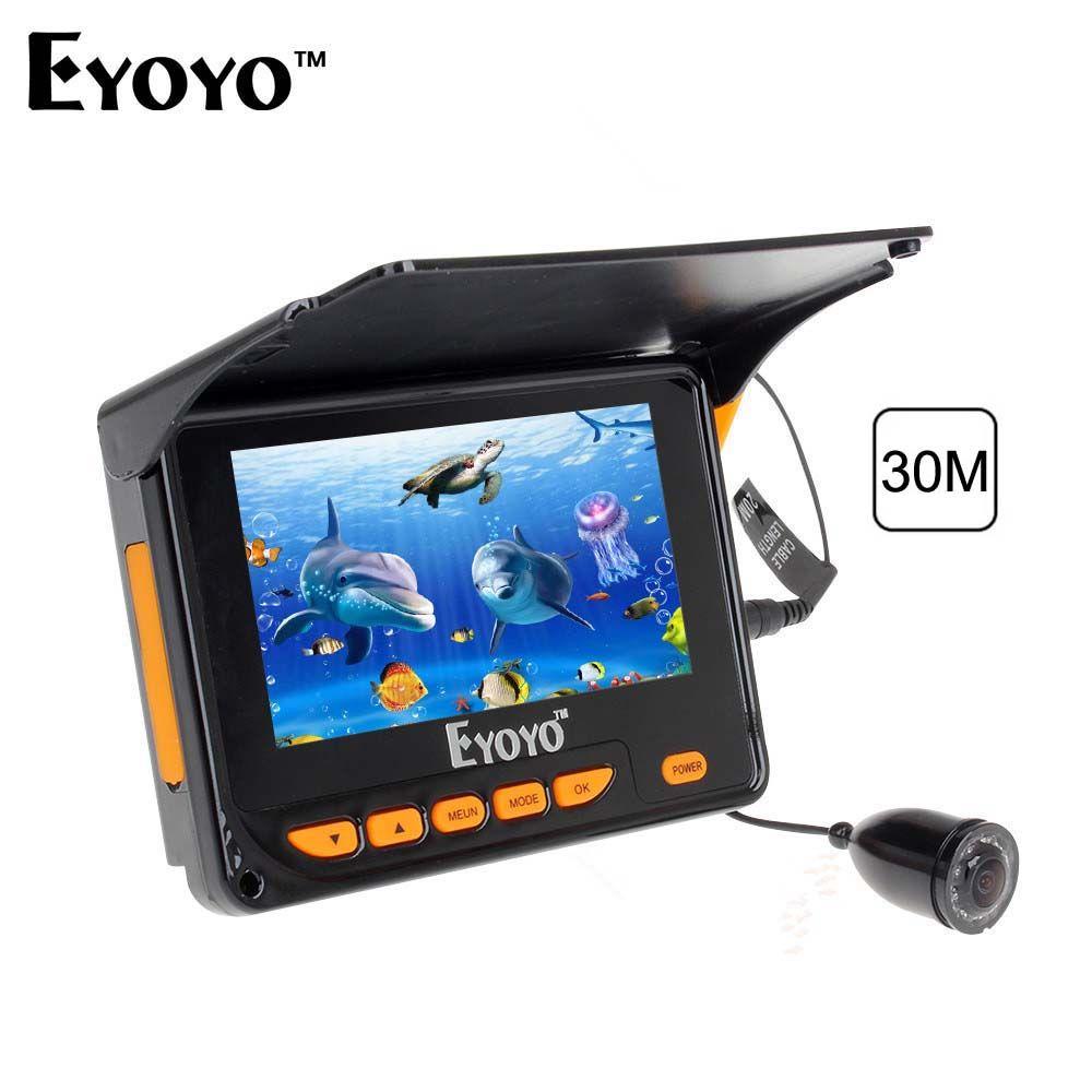 Eyoyo 30M caméra sous-marine pour la pêche 4.3