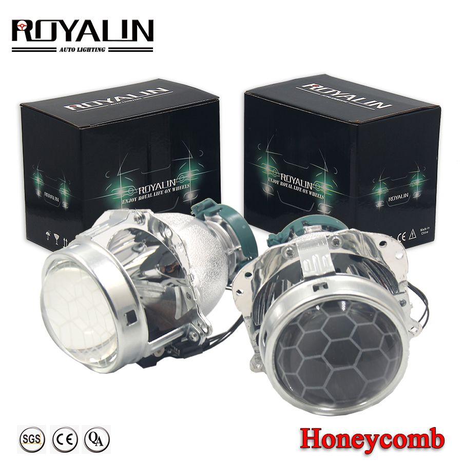 ROYALIN Projektor Scheinwerfer Bi Xenon Objektiv EVOX 2,0 D2S Lampen für BMW E39 E60 Ford Audi A6 C5 C6 W211 passat B6 Skoda Fabia