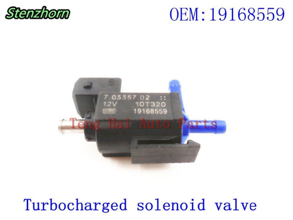 Stenzhorn For Buick turbocharger boost solenoid valve 19168559,12657023,70335702