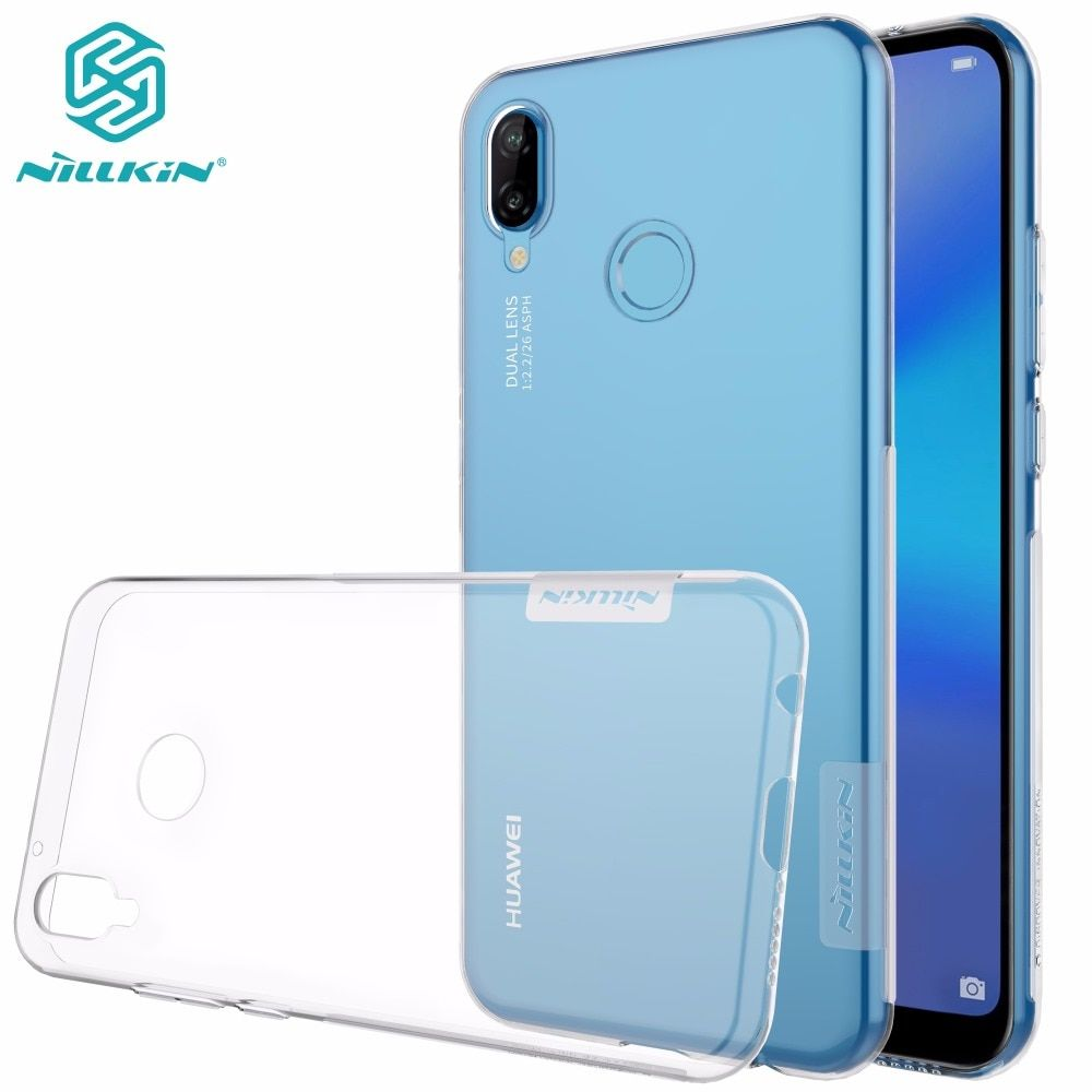 Huawei P20 lite case cover NILLKIN TPU case For Huawei P10 lite P20 lite P20 Pro Ultra thin clear Transparent soft back cover