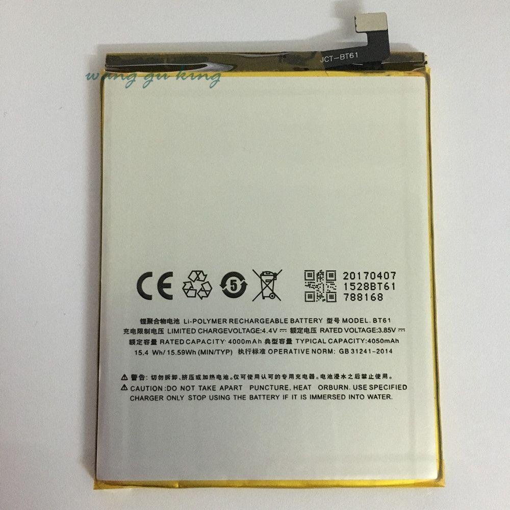 4100mAh BT61 Replacement Battery For Meizu M3 Note L681H L-version Baterij Bateria Batterie Cell Mobile Phone Batteries