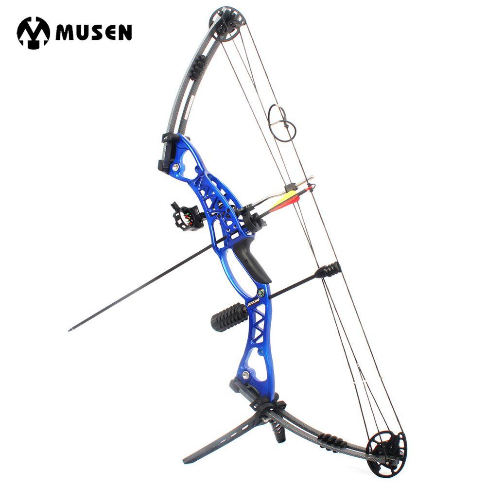 Neue Jagd Archery Compoundbogen 40-60lbs Aluminiumlegierung Slingshot Bogen mit Peep für Erwachsene Jäger Outdoor Jagd Schießen