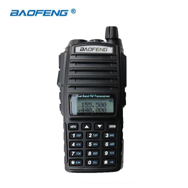 Baofeng UV-82 Walkie Talkie HAM Radio Dual Band 2 Way Portable Transceiver VHF UHF FM UV 82 Radios Handheld Stereo Speaker