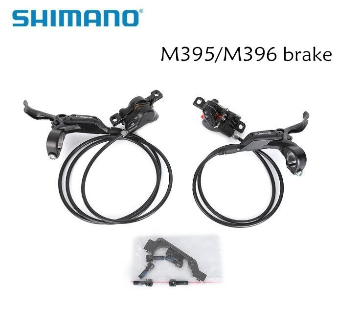shimano Hydraulic Disc Brake Set Front and Rear BR-BL-M395 BL-M396 for shimano M395 M396 brake