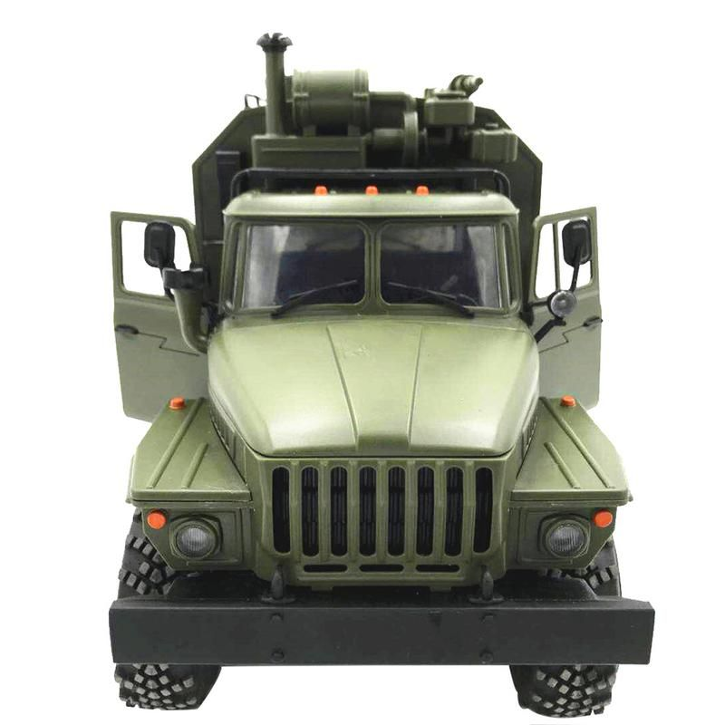 WPL Ural 1:16 Six-Drive Military Truck Command Communication Vehicle Full Scale Simulation Climbing RC CAR
