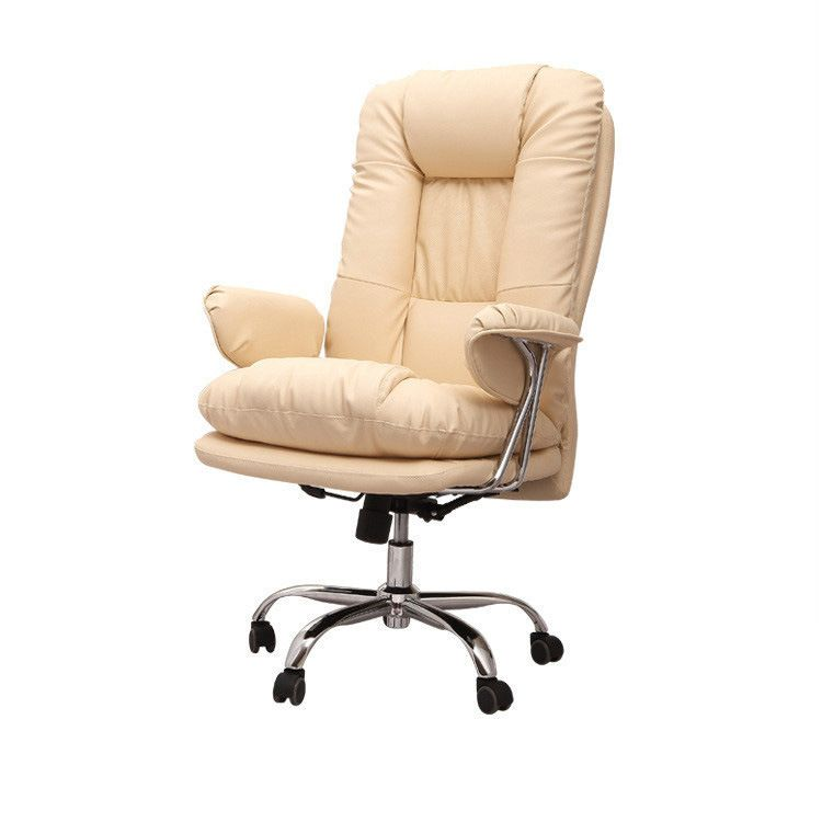 High Quality Super Soft Leisure Office Chair Computer Seat Chair Lifting Lying Swivel Chair Thickening Cushion Backrest Chair